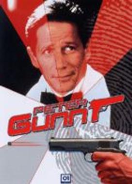 La copertina DVD di Peter Gunn