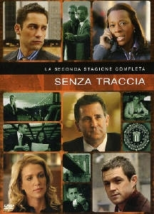 La copertina DVD di Senza traccia - Stagione 2