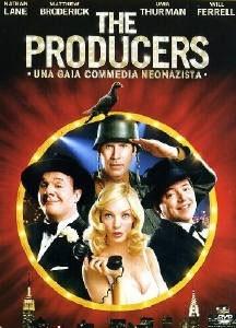 La copertina DVD di The Producers - Una gaia commedia neonazista