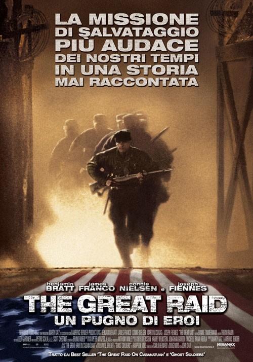 La locandina italiana di The Great Raid - Un pugno di eroi