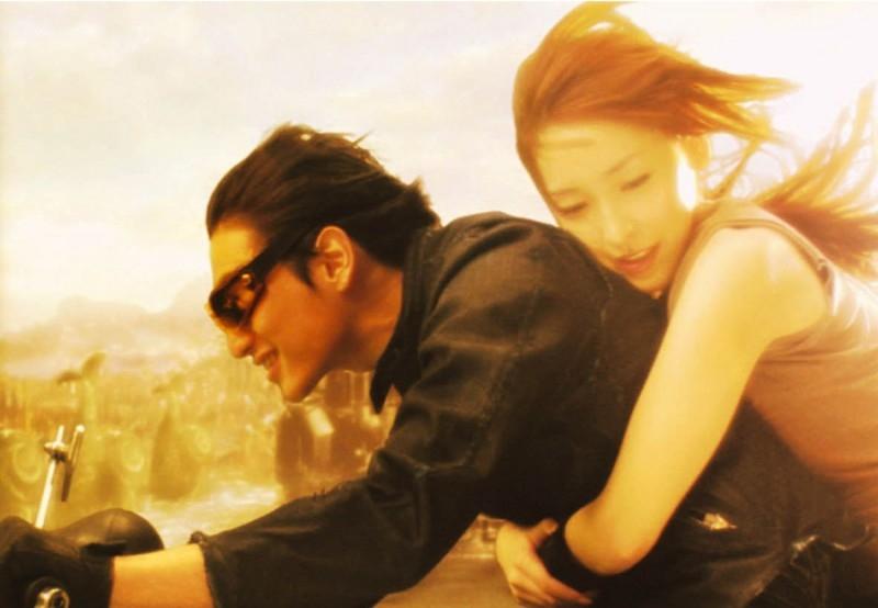 Una scena d'azione del film Kyashan - La rinascita