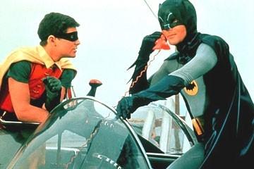 Adam West e Burt Ward nella serie tv 'Batman'