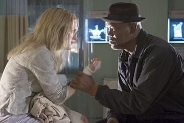 Julianne Moore con Samuel L. Jackson ne Il colore del crimine