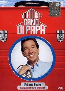 La copertina DVD di Quell'uragano di papà - Stagione 1