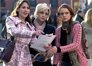 Samaire Armstrong, Lindsay Lohan e Bree Turner in  Baciati dalla sfortuna (Just My Luck)