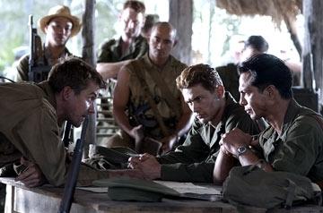Una scena di The Great raid