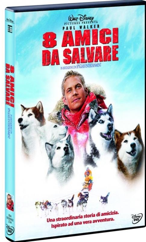 La copertina DVD di 8 amici da salvare