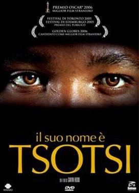 La copertina DVD di Il suo nome è Tsotsi