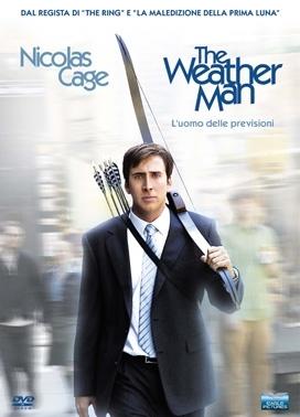 La copertina DVD di The Weather Man - l'uomo delle previsioni