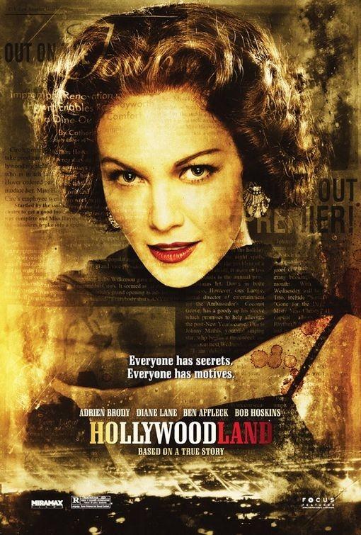La locandina di Hollywoodland con Diane Lane
