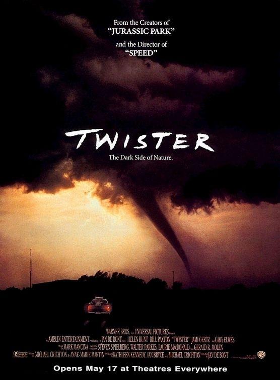 La locandina di Twister