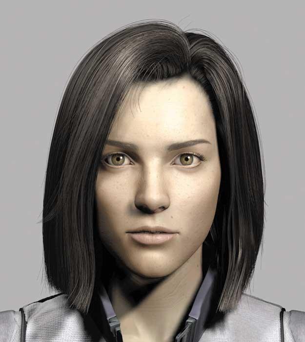 Una foto promozionale del film Final Fantasy