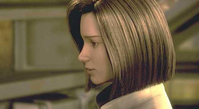 Una protagonista del film Final Fantasy