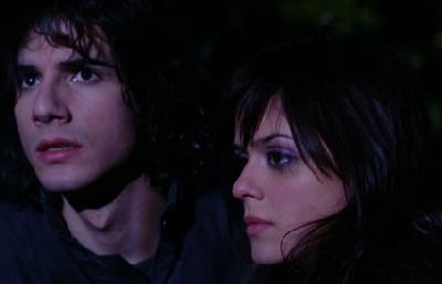 Giulia Ruffinelli e Luca Bastianello in una scena de La notte del mio primo amore