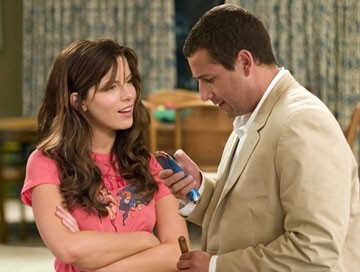 Kate Beckinsale e Adam Sandler in Click