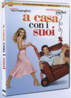 La copertina DVD di A casa con i suoi