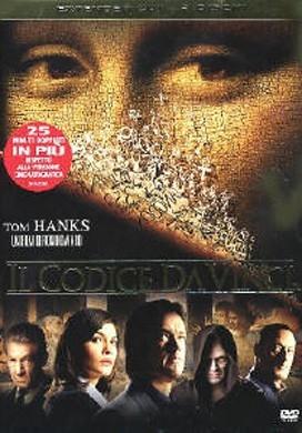 La copertina DVD di Il Codice Da Vinci - Extended Cut