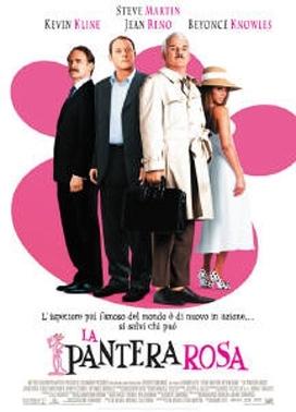 La copertina DVD di La pantera rosa