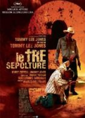La copertina DVD di Le tre sepolture