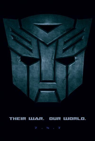 La locandina di Transformers 'Their War, Our World'