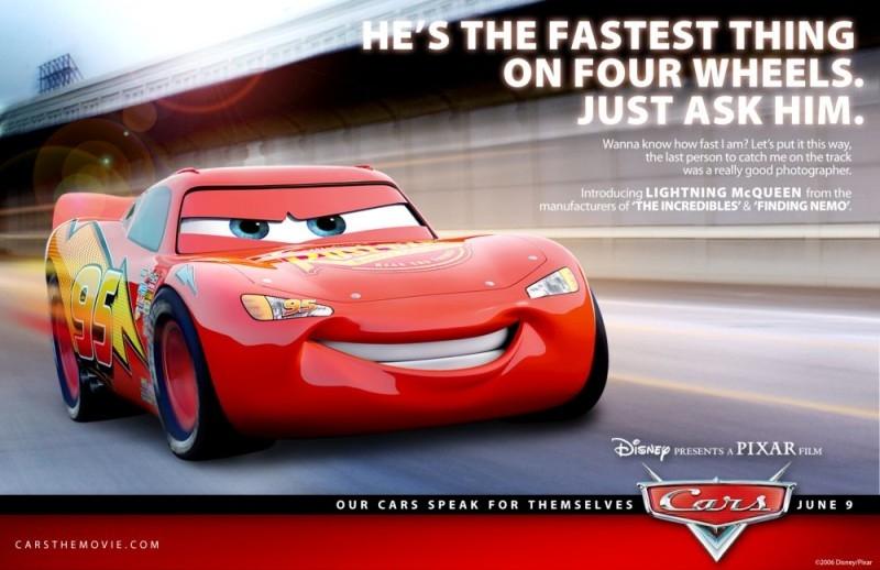 Un'immagine promo per Cars