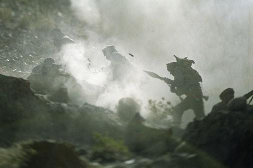 Una scena de  L'Etoile du soldat