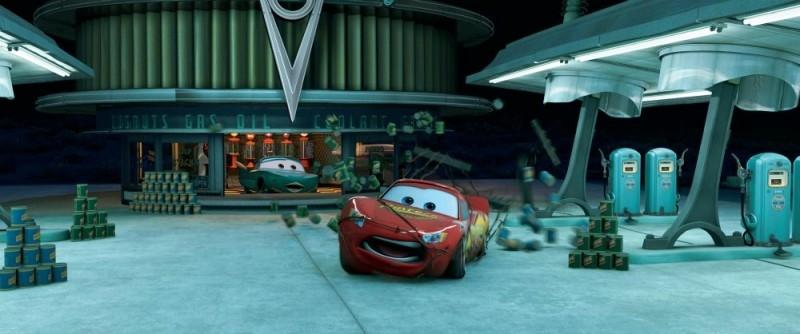 Una scena di Cars - motori ruggenti