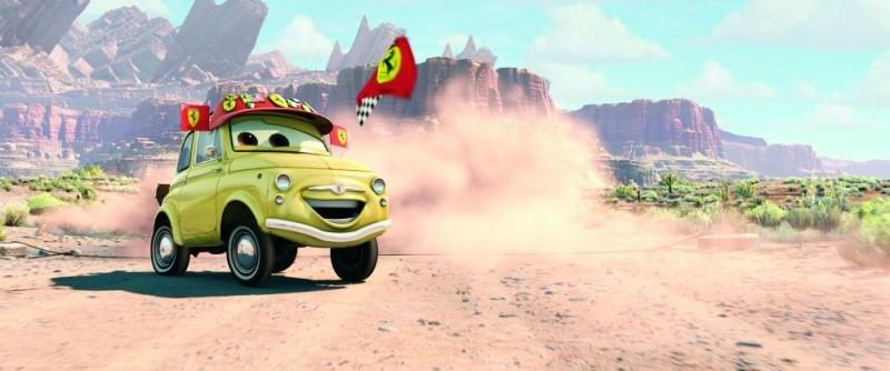 scena di Cars
