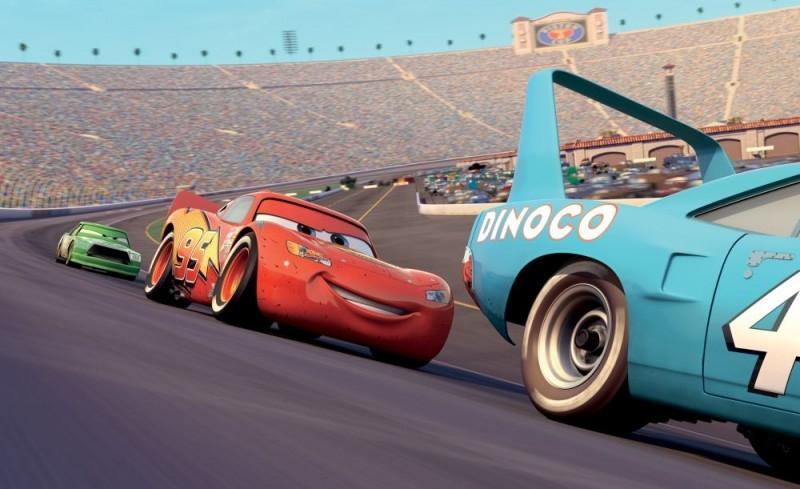 scena di Cars - motori ruggenti