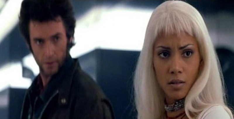 Hugh Jackman e Halle Berry in una scena di X-MEN
