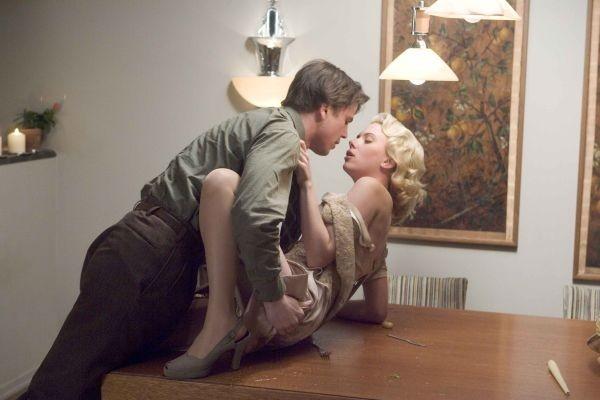 Josh Hartnett e Scarletrt Johansson in The Black Dahlia