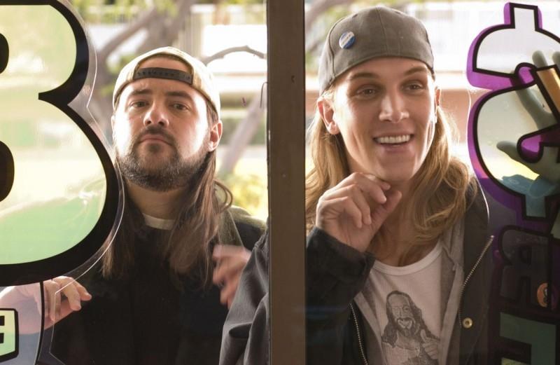 Kevin Smith e Jason Mewes in una scena di Clerks II
