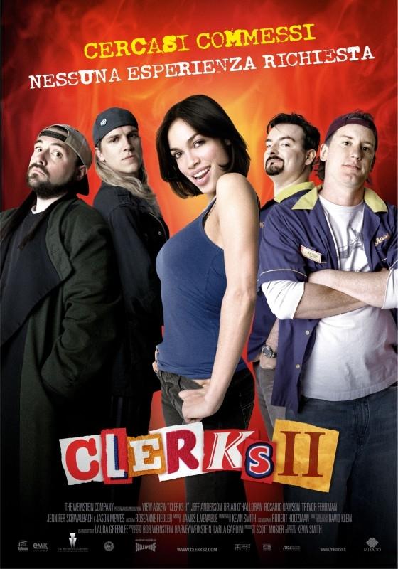 La locandina italiana di Clerks II