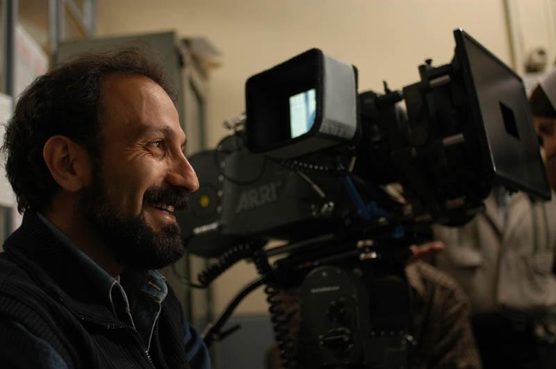 Asghar Farhadi sul set di Chahar Shanbeh Souri