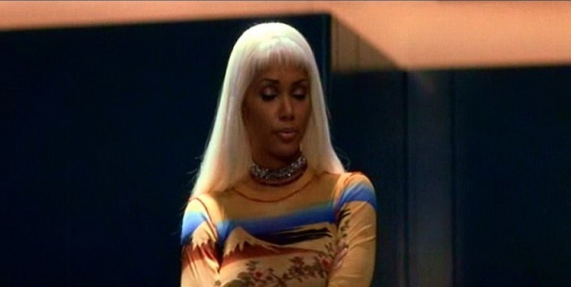 Halle Berry in una sequenzadi X-MEN
