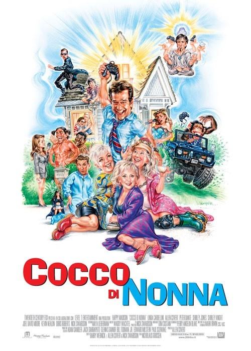 La locandina italiana di Cocco di nonna