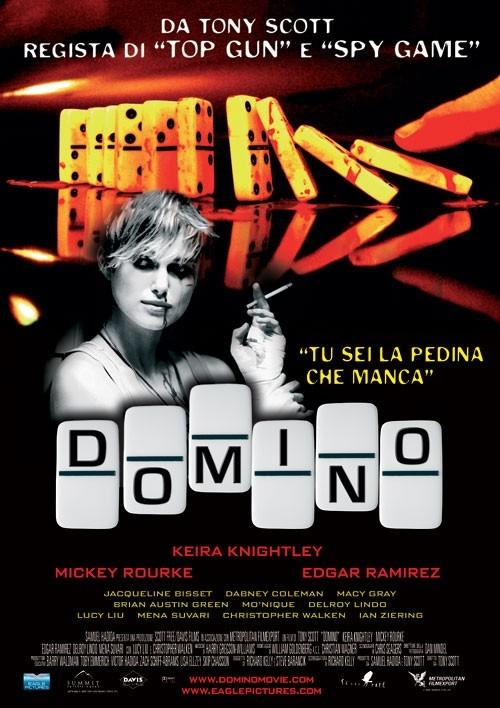 La locandina italiana di Domino