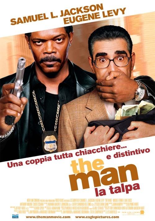 La locandina italiana di The man - La talpa