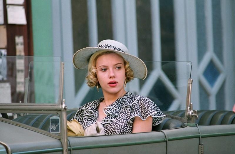Scarlett Johansson in una scena del film Le seduttrici