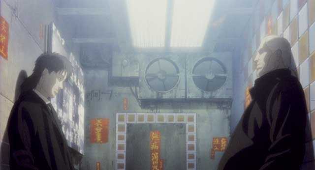 scena del film Ghost in the Shell 2 - L'attacco dei cyborg
