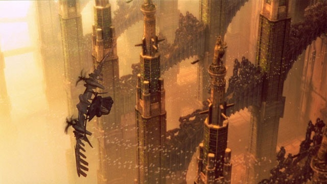 Una scena del film Ghost in the Shell 2 - L'attacco dei cyborg