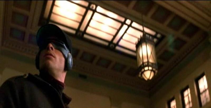 James Marsden in una scena di X-MEN