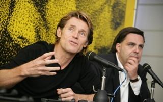 Locarno 2006 - Willem Dafoe  e Frédéric Maire