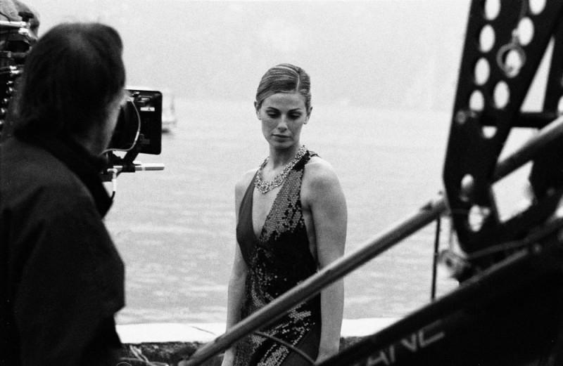 Vanessa Incontrada sul set del film Quale amore