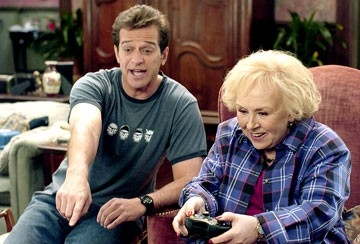 Allen Covert e Doris Roberts in Cocco di Nonna