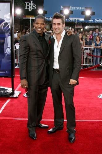 Jamie Foxx e Colin Farrell alla premiere di Miami Vice a Los Angeles