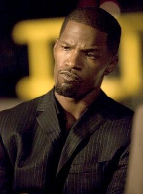 Jamie Foxx in una scena del film Miami Vice