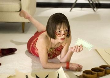 Judy Davis in una scena del film Ti odio, ti lascio, ti...