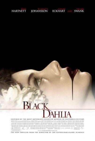 La locandina di The Black Dahlia di Brian De Palma