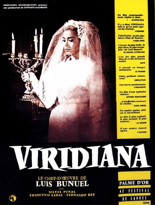 La locandina di Viridiana